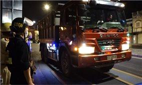 TP. Hồ Chí Minh triển khai cao điểm tuần tra, xử lý xe ô tô chở hàng vượt quá tải trọng