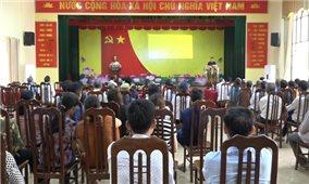 Phòng Tư pháp huyện Mỹ Đức: Hội nghị phổ biến pháp luật về bầu cử tại xã Hùng Tiến