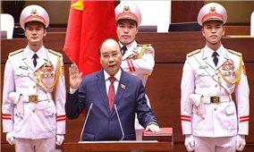 Đồng chí Nguyễn Xuân Phúc được bầu giữ chức Chủ tịch nước
