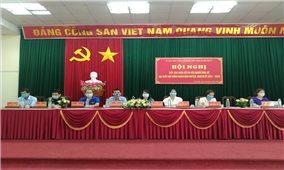 UBMTTQ huyện Ba Vì: Tổ chức hội nghị tiếp xúc cử tri với người ứng cử Đại biểu HĐND cấp huyện nhiệm kỳ 2021-2026 tại 9 đơn vị bầu cử.