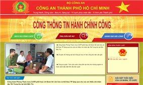 Công an TP. Hồ Chí Minh ra mắt Cổng thông tin dịch vụ hành chính công