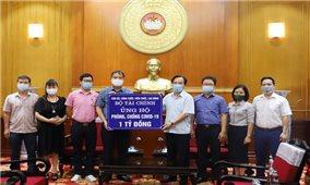 Ủy ban Trung ương MTTQ Việt Nam tiếp nhận nhiều nguồn lực ủng hộ chung tay đẩy lùi Covid-19
