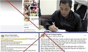 Cảnh giác chiêu trò giả mạo từ thiện trên mạng xã hội