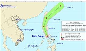 Chủ động ứng phó với bão Choi-wan và lũ quét, sạt lở đất
