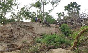 Thanh Hóa: Thiếu kinh phí kéo dài, người dân tiếp tục sống trong vùng nguy hiểm