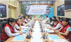 Hội thảo trực tuyến về hợp tác kỹ thuật trong lĩnh vực phòng, chống thiên tai giữa Việt Nam và Hoa Kỳ