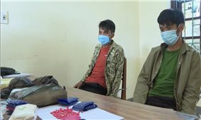 Điện Biên: Bắt quả tang 2 anh em mua bán trái phép 30.000 viên ma túy tổng hợp