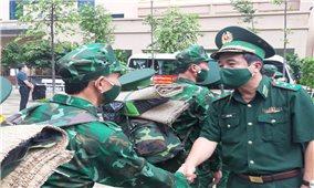 Quân y BĐBP tiếp tục xuất quân tham gia chống dịch Covid-19 tại các tỉnh phía Nam