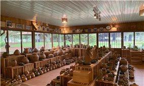 """Người Chu Ru ở K'răng Gọ: """"Thắp lửa"""" nghề gốm mộc truyền thống"""