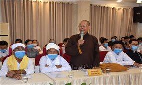 Bình Thuận gặp mặt chức sắc tôn giáo, dân tộc và người tiêu biểu