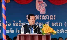 Campuchia nêu bật vai trò của Việt Nam trong tiêu diệt chế độ Khmer Đỏ