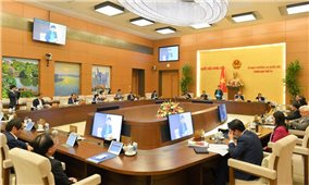 Chủ tịch Quốc hội Nguyễn Thị Kim Ngân phát biểu khai mạc phiên họp thứ 52 của Ủy ban Thường vụ Quốc hội