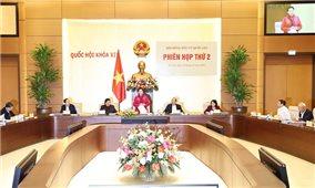 Chủ tịch Quốc hội chủ trì phiên họp thứ 2, Hội đồng Bầu cử Quốc gia