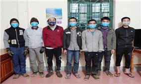 Phát hiện bắt giữ 7 trường hợp nhập cảnh trái phép qua biên giới