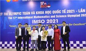 Việt Nam giành 2 Huy chương Vàng kỳ thi Olympic Toán học và Khoa học quốc tế