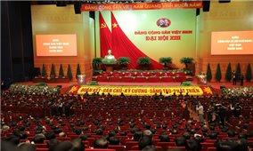 Thông cáo báo chí về Ngày làm việc thứ hai của Đại hội Đảng toàn quốc lần thứ XIII