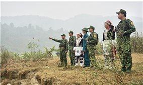 Chăm lo Tết cho Bộ đội phòng chống dịch