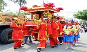Lễ hội Nghinh Ông Sông Đốc trở thành Di sản văn hóa phi vật thể cấp quốc gia