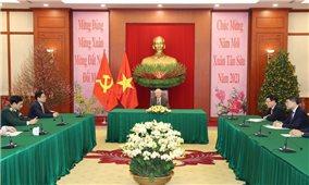 Việt Nam coi trọng củng cố và tăng cường quan hệ Đối tác chiến lược toàn diện với Liên bang Nga