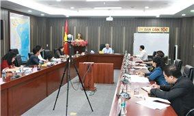 Ủy ban Dân tộc: Hoàn thiện hướng dẫn triển khai thực hiện Quyết định 39