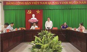 Ủy ban Dân tộc làm việc với Tỉnh ủy Sóc Trăng