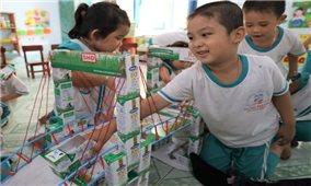 """4 năm triển khai, sữa học đường tỉnh Bến Tre """" Được lòng cả thầy trò, phụ huynh"""""""