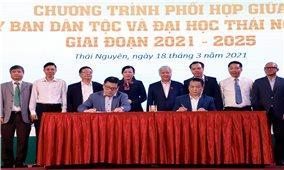Ủy ban Dân tộc tiếp tục phối hợp với Đại học Thái Nguyên trong đào tạo, nâng cao chất lượng nguồn nhân lực DTTS