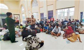 Phát hiện 61 người dân tộc Chăm nhập cảnh trái phép từ Campuchia về Việt Nam