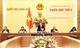 Chủ tịch Quốc hội chủ trì Phiên họp thứ 4 Hội đồng bầu cử quốc gia