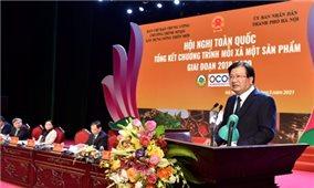 Chương trình OCOP: Tạo sức lan toả, nâng cao giá trị sản phẩm Việt Nam