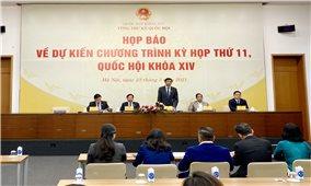 Kỳ họp thứ 11, Quốc hội khóa XIV: Quốc hội sẽ bầu và phê chuẩn 25 chức danh lãnh đạo Nhà nước