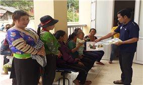 Hiệu quả từ mô hình phòng chống suy dinh dưỡng cho trẻ em ở vùng cao Điện Biên
