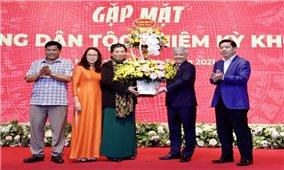 UBDT trao tặng Kỷ niệm chương và Bằng khen các đồng chí có nhiều đóng góp cho công tác dân tộc