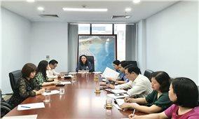 Thứ trưởng, Phó Chủ nhiệm UBDT Hoàng Thị Hạnh làm việc với Báo Dân tộc và Phát triển