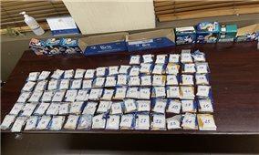 Chặn đứng lô ma túy trị giá 4 tỉ đồng gửi qua đường hàng không