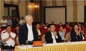 Tổng Bí thư, Chủ tịch nước Nguyễn Phú Trọng được cử tri nơi cư trú tín nhiệm cao, giới thiệu ứng cử đại biểu Quốc hội khóa XV