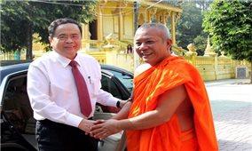 Chủ tịch Trần Thanh Mẫn gửi thư chúc mừng nhân dịp Tết cổ truyền Chôl Chnăm Thmây năm 2021
