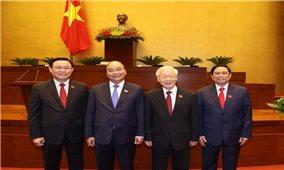 Lãnh đạo các nước gửi điện mừng, thư mừng, điện đàm chúc mừng lãnh đạo Việt Nam