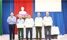 Bình Phước: 10 già làng, Người có uy tín tiêu biểu được biểu dương, khen thưởng