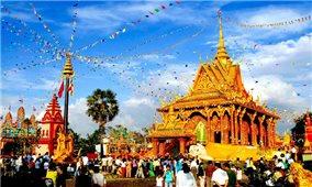 Lễ hội Tết cổ truyền Campuchia - Lào - Myanmar -Thái Lan tại TP. Hồ Chí Minh