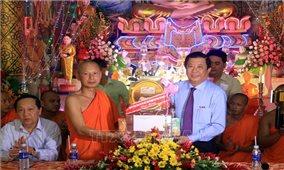 Đồng bào Khmer vui Tết Chôl Chnăm Thmây sung túc, an toàn