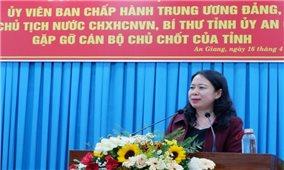 Phó Chủ tịch nước thăm và làm việc tại tỉnh An Giang