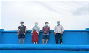 Kiên Giang: Liên tiếp phát hiện nhiều đối tượng nhập cảnh trái phép trên biển