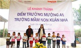 Quỹ vì Tầm vóc Việt (Ngân hàng TMCP Bắc Á): Tiếp sức cho trẻ vùng cao Sơn La đến trường