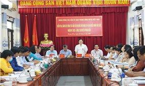 Đoàn công tác Trung ương MTTQ Việt Nam kiểm tra công tác bầu cử TP. Cần Thơ