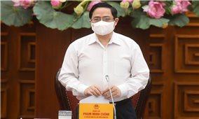 Thủ tướng Phạm Minh Chính chủ trì họp khẩn về phòng, chống COVID-19