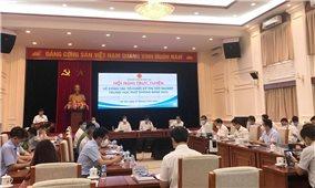Hội nghị trực tuyến toàn quốc về công tác tổ chức kỳ thi tốt nghiệp trung học phổ thông năm 2021