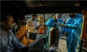 Thế giới ghi nhận hơn 154 triệu ca nhiễm COVID-19, hệ thống y tế Ấn Độ hoạt động cầm chừng