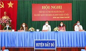 Phó Thủ tướng Chính phủ Phạm Bình Minh tiếp xúc cử tri tại tỉnh Bà Rịa – Vũng Tàu