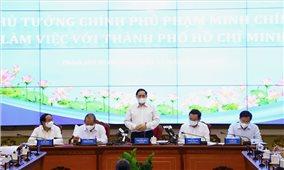 Thủ tướng Chính phủ Phạm Minh Chính làm việc với Thành phố Hồ Chí Minh